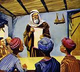 Mohammed's teachings were written down in a book which has won millions of converts