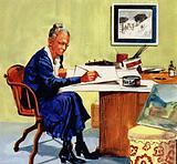 Governor Nelson Rockefeller made Anna's birthday Grandma Moses Day