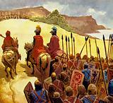 The battle for England was fought on a hill near Hastings