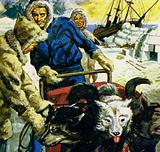 Amundsen planned to lead an expedition to the North Pole
