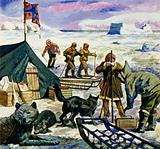 Amundsen was the first man to reach the South Pole