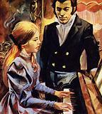 Schubert was employed as a teacher by Count Johann Esterhazy