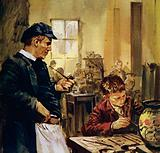 Pierre Auguste Renoir worked as a child in a china factory