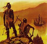 New France had few inhabitants other than the native Indians