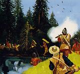 Champlain helped rid the area of Iroquois