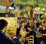 Renoir painting La Moulin de La Galette