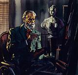 Renoir was confined to a bath chair through rheumatism