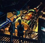 Captain Nemo showed Aronnax the vast engine room