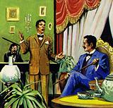 The turning point in Enrico's career came when he met opera composer Puccini