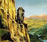 Bandoola led the other elephants along the narrow path