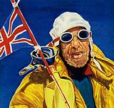 Hillary and Tenzing reached the summit of Everest and planet the Union Jack