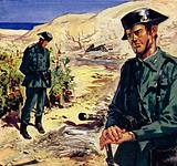 The Guardia discovered the first of the H-Bombs lying in a tomato field