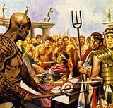 Spartacus now had 40,000 men