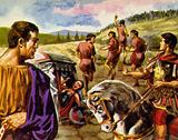 Spartacus aimed to cross Italy to Sicily and set up a stronghold for freed slaves