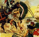 The siege of Tenochtitlan began in May 1521