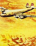 Hughes built up Trans World Airlines into one of the biggest airlines in the world