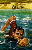 Whenever possible, Roosevelt would swim to help rebuild his strength