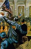 Roosevelt was again elected President in 1940