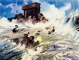 The utter destruction of the Minoan civilisation may explain the myth of Atlantis