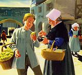 Fabre began selling lemons on the streets of Montpelier