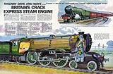 Cutaway drawing of The Flying Scotsman