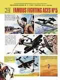 """Famous Fighting Aces: Squadron-Leader M. T. """"Pat"""" Pattle, D.F.C. and bar"""