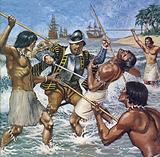 Death of Ferdinand Magellan