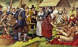 First Thanksgiving in America, 1621