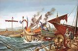 The Battle of Salamis, 480BC