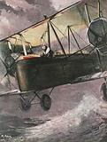Alcock and Brown, first men to fly the Atlantic