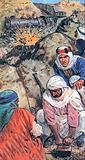 Lawrence of Arabia and his followers sabotaged trains and blew up miles of railway lines