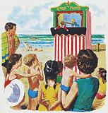 Watching Punch and Judy