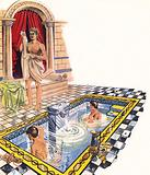 Bathroom of a Roman villa