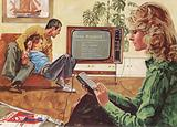 Home electronics, mid 1970s