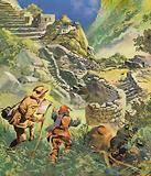Hiram Bingham discovers the lost Incan city of Machu Picchu in Peru