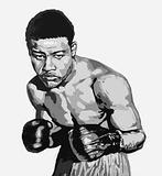 Joe Louis, world heavyweight champion for eleven years