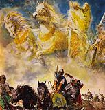 The Army in the Sky, The Story of Elisha