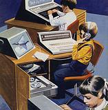 Schools of tomorrow, as imagined in the early 1970s
