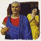 Julius Caesar's wife Calpurnia dreamt of the danger threatening him, but her warnings were in vain