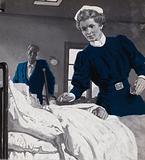 Edith Cavell, nursing