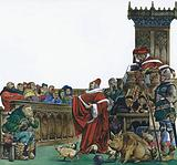 Medieval court in which animals were put on trial