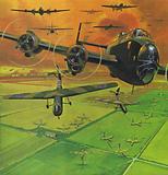 Support for the Battle of Arnhem, 1944