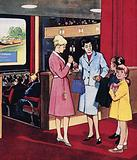 The Cinema Usherette