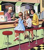 The Milk Bar Lady