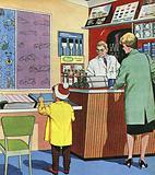 The Wallpaper Shop Man