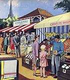 The Market Stall Keeper