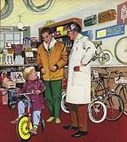 The Cycle Shop Man