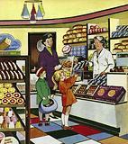 The Baker's Shop Lady