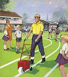 The School Groundsman
