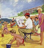 The Seaside Artist